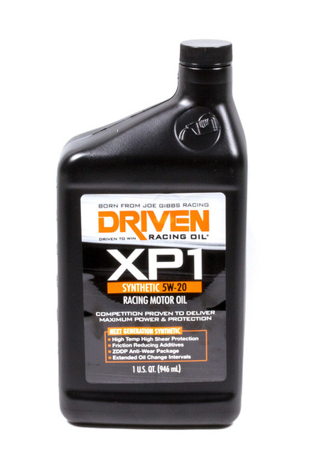 XP1 5w-20 Synthetic Racing Oil JGP00006 Driven Racing Oil