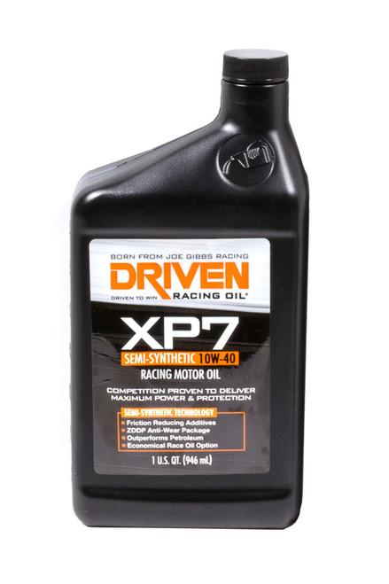 XP7 10w-40 Semi-Synthetic Racing Oil JGP01706 Driven Racing Oil