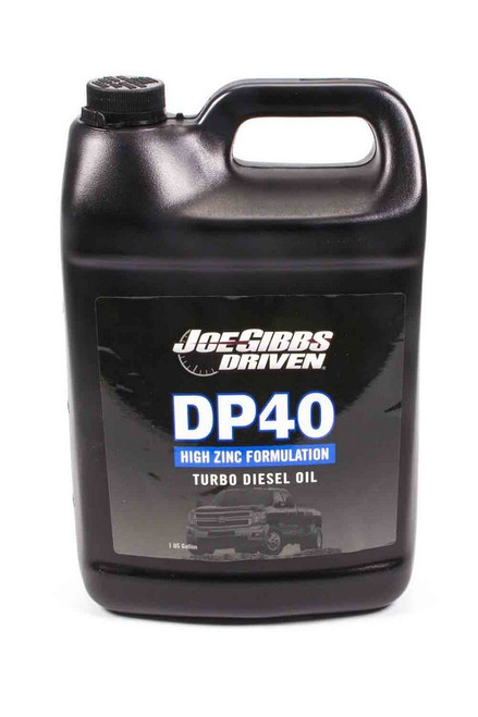 DP40 5w40 Synthetic Turbo Diesel Oil - 1 Gallon Jug  Driven Racing Oil