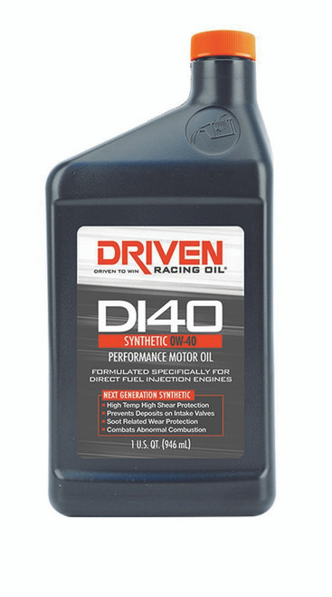 DI40 0W-40 Synthetic Oil JGP18406 Driven Racing Oil