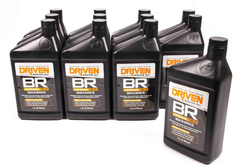 BR 15w-50 Break-In Petroleum Oil - Case of 12 Quarts JGP00106-12 Driven Racing Oil