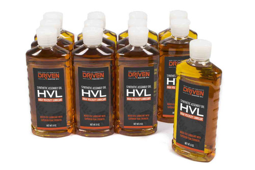 HVL High Velocity Lube - Case of 12 8oz. Bottles JGP50050-12 Driven Racing Oil