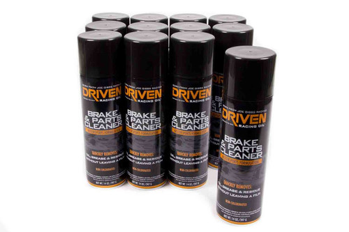 Brake & Parts Cleaner - Case of 12 14 oz cans JGP50020-12 Driven Racing Oil