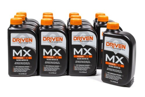 MX1 10w-30 Wet Clutch Oil - Case of 12 Quarts JGP03106-12 Driven Racing Oil