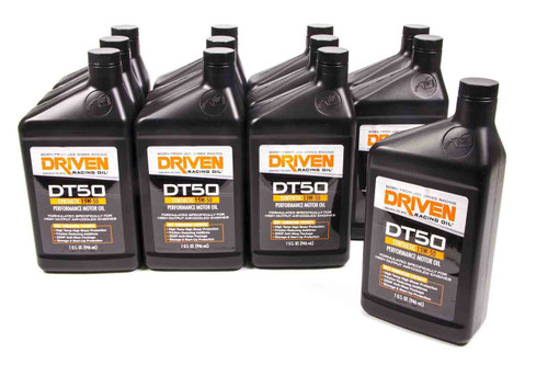 DT50 15w-50 Synthetic Oil - Case of 12 Quarts JGP02806-12 Driven Racing Oil