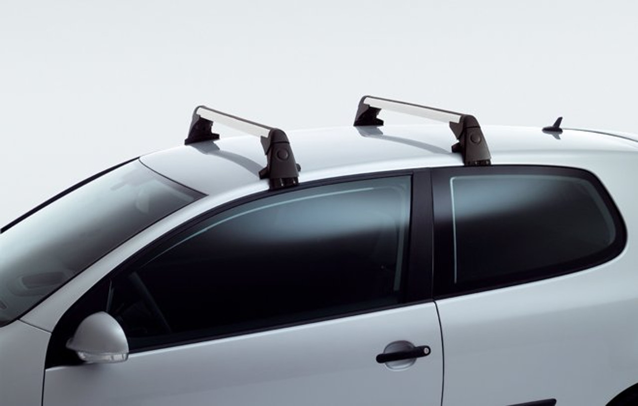 2006 2009 Vw Rabbit Roof Rack Bars Free Shipping Vw Accessories Shop