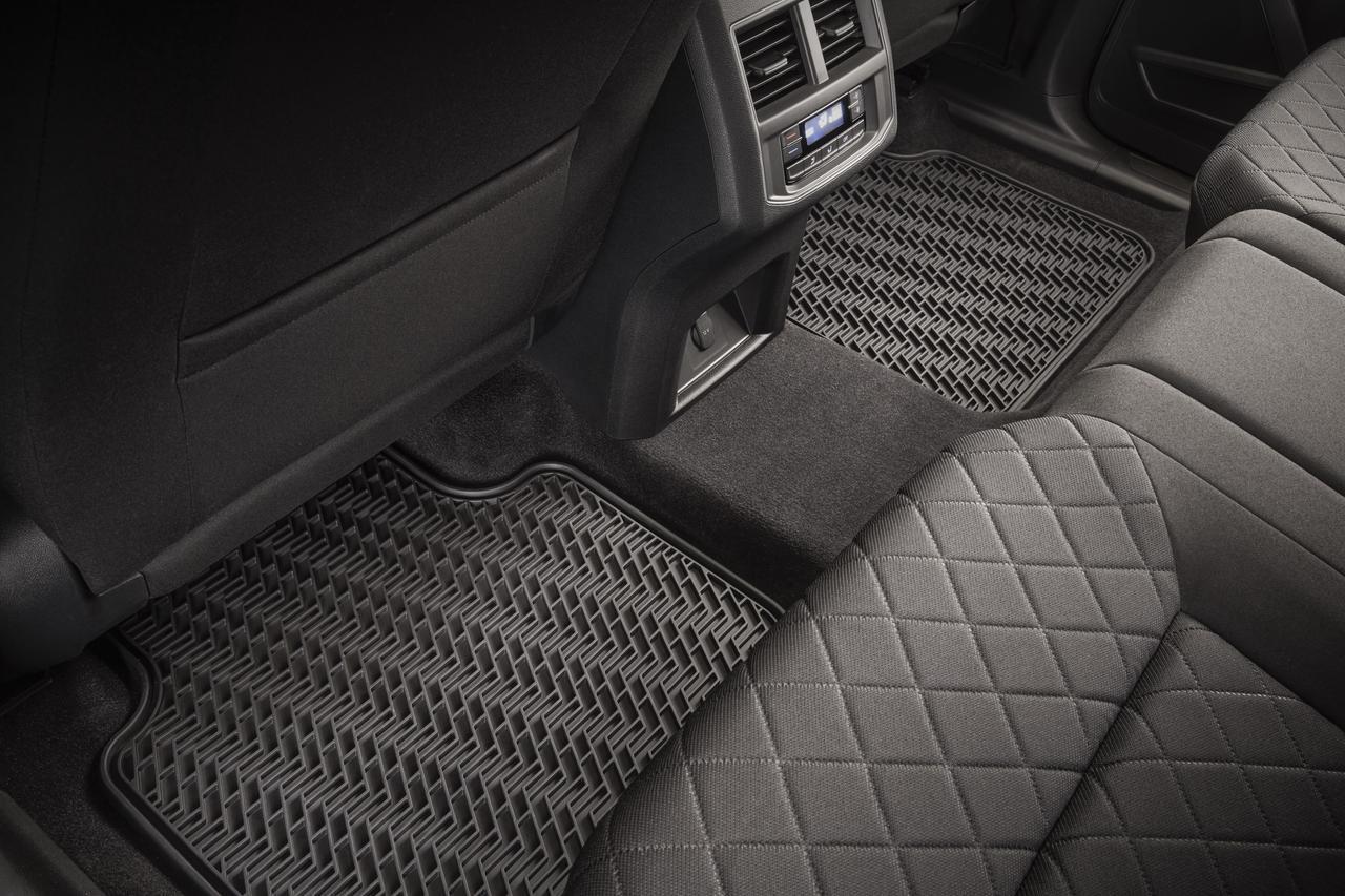 2018-2019 Volkswagen Atlas Rubber Floor Mats