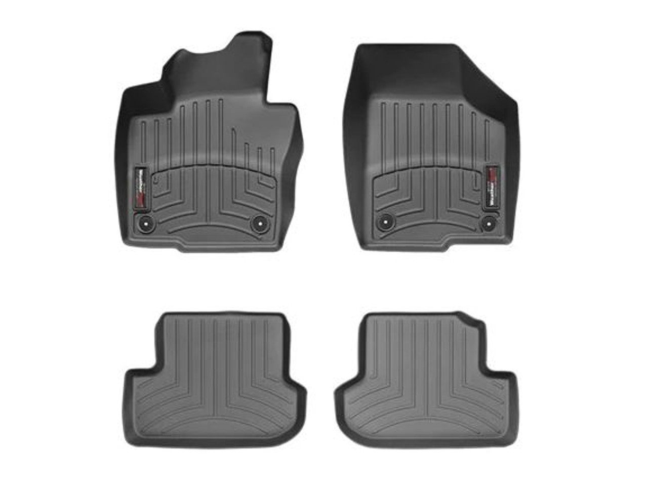 VW Beetle WeatherTech FloorLiners - Full, Black