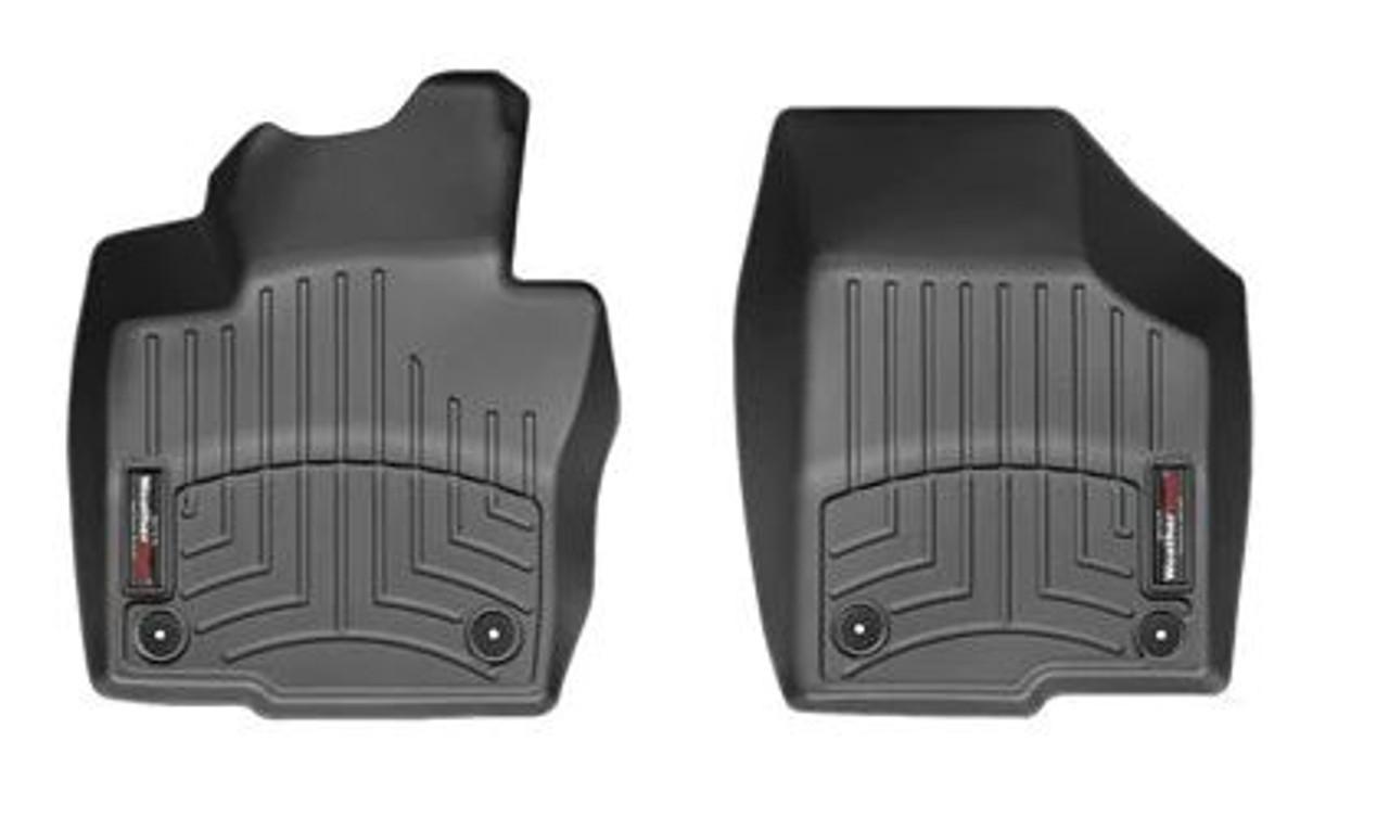VW Beetle WeatherTech FloorLiners - Front, Black