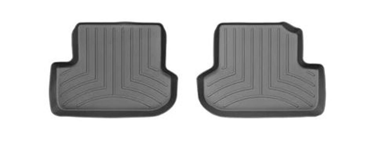VW Beetle WeatherTech FloorLiners - Rear, Black