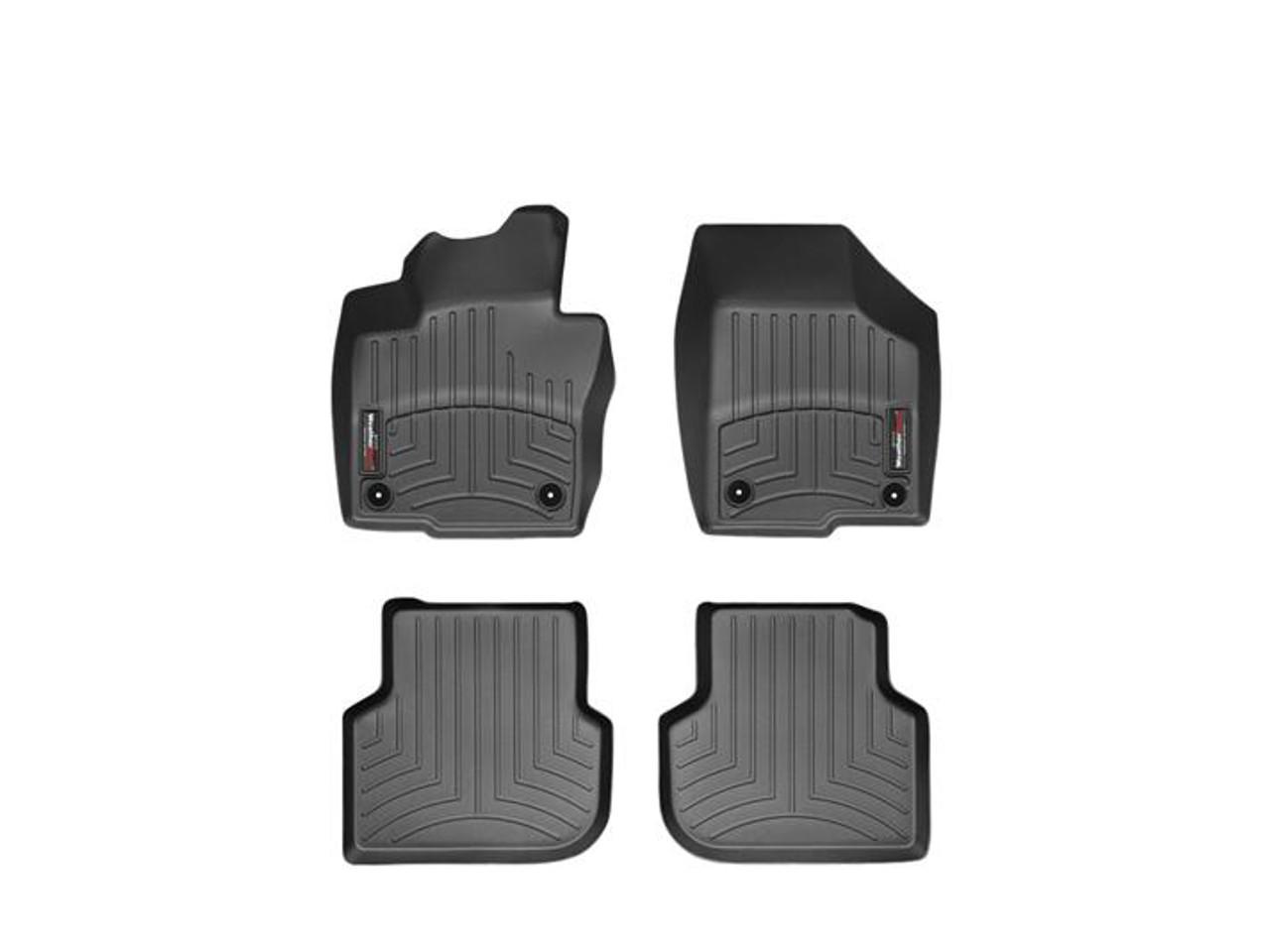 VW Jetta GLI WeatherTech FloorLiners - Black