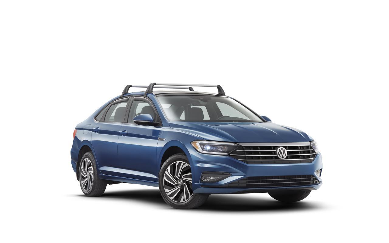 2019 2021 Volkswagen Jetta Roof Rack Bars Free Shipping Vw Accessories Shop