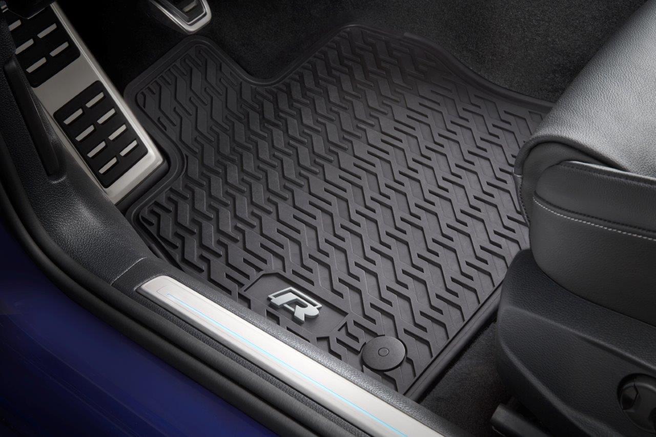 2015-2019 VW Golf R Rubber Floor Mats