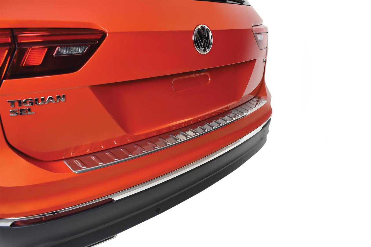 2020 2021 Volkswagen Tiguan Rear Bumper Protector Free Shipping Volkswagen Accessories Shop