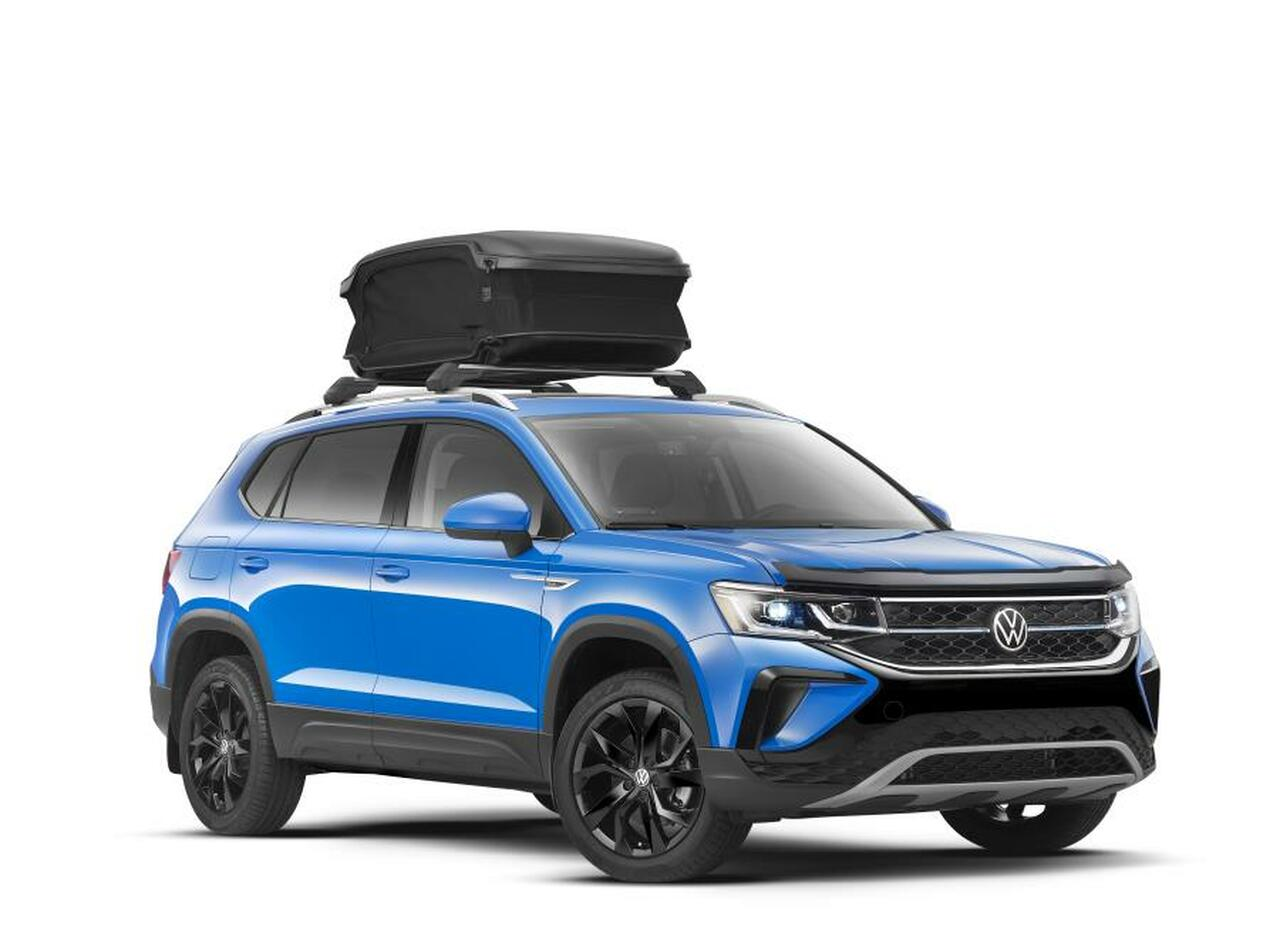 2022 Volkswagen Taos Roof Rack Crossbars (Luggage Case not Included)