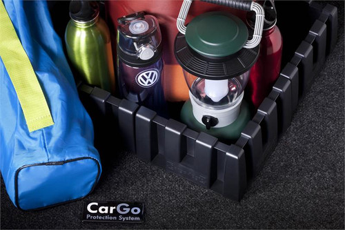 VW Passat Cargo Mat with Organizing Blocks