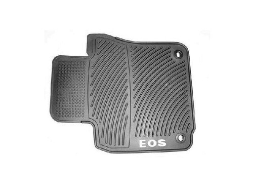 2006-2016 VW Eos Rubber Floor Mats - Oval Retention Clips