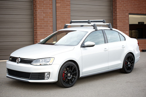 VW Jetta GLI Roof Rack Bars