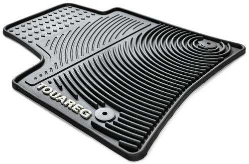 VW Touareg Rubber Floor Mats