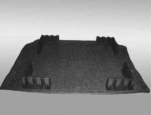 VW Beetle Cargo Mat with Organizing Blocks