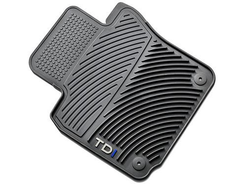 VW Golf TDI Rubber Floor Mats