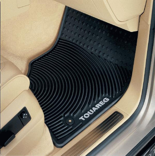 2008-2010 Vw Touareg Rubber Floor Mats