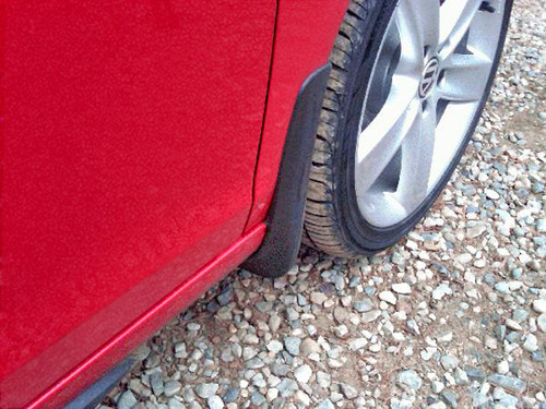 VW Golf Mud Guards