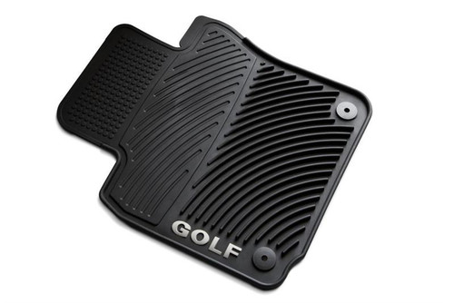 VW Golf Rubber Floor Mats
