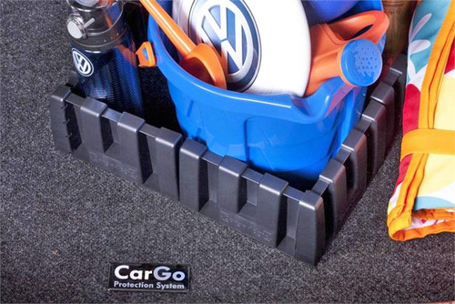 VW Jetta Cargo Mat with Organizing Blocks