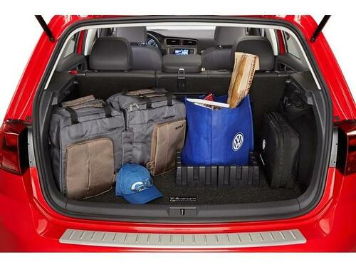 2015-2021 VW Golf Cargo Mat with Organizing Blocks