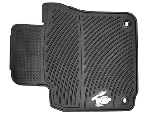 VW Rabbit Rubber Floor Mats
