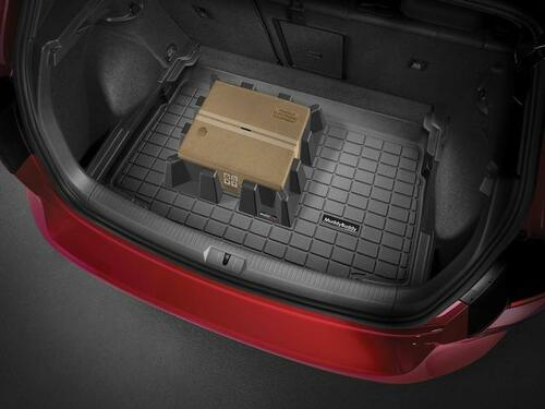 2011-2016 Volkswagen Touareg Rubber Cargo Tray, Containment Blocks