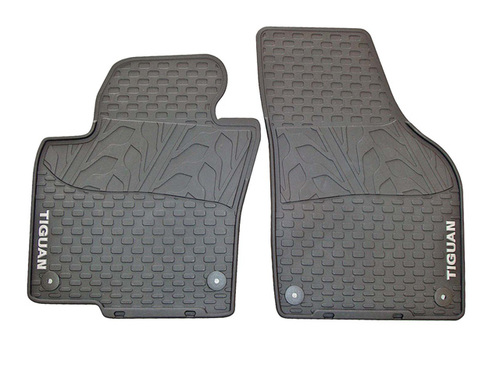 2009-2017 VW Tiguan Rubber Floor Mats