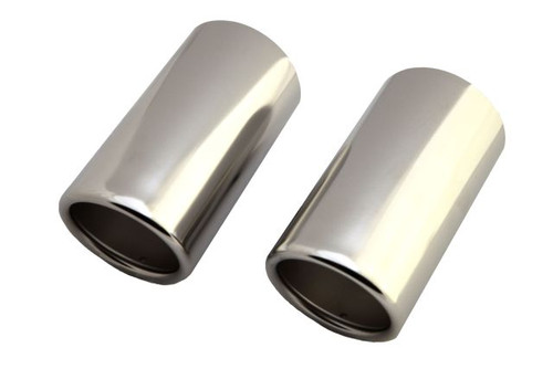 2006-2011 VW Eos Stainless Steel Exhaust Tips