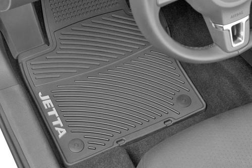 VW Jetta Rubber Floor Mats