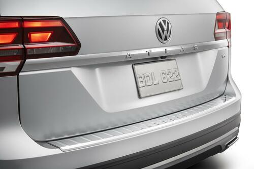 2018-2020 VW Atlas Chrome Rear Bumper Protector