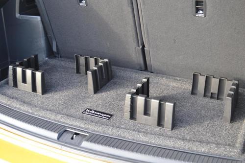 2018-2022 Volkswagen Atlas Cargo Mat with Organizing Blocks