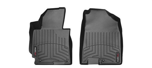 VW Beetle Convertible WeatherTech FloorLiners- Front, Black
