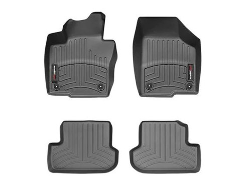 2014 2016 2017 Passenger /& Rear Floor 2012 2015 GGBAILEY D51370-S1A-BLK/_BR Custom Fit Car Mats for 2010 2018 Porsche Panamera Black with Red Edging Driver 2011 2013