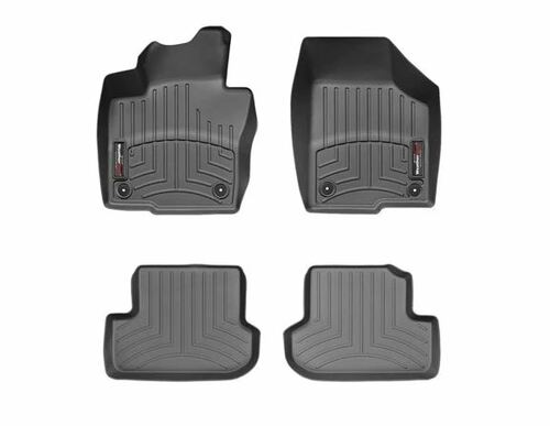 VW Beetle WeatherTech FloorLiners - Full, Black