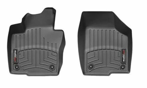 VW Beetle WeatherTech FloorLiners - Front, Black