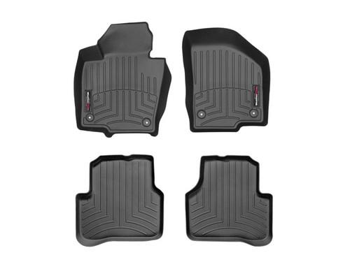 VW CC WeatherTech FloorLiners - Black