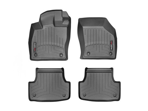 VW GTI WeatherTech FloorLiners - Black