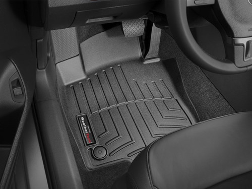 2012-2019 VW Passat WeatherTech Floor Liners - Front Set, Black