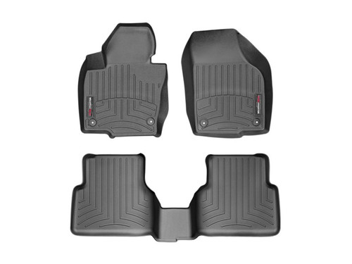 2009-2017 VW Tiguan WeatherTech FloorLiners - Black