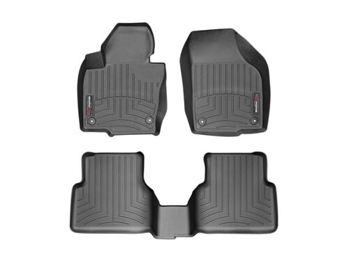 2011-2017 VW Touareg WeatherTech FloorLiners - Black