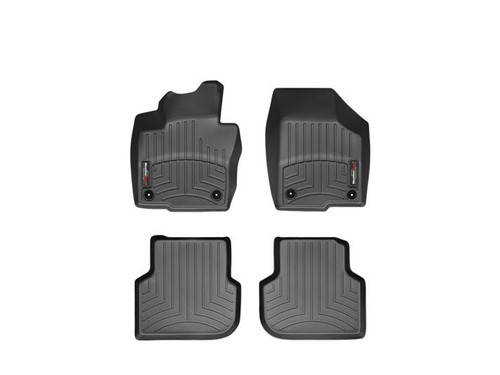 VW Jetta GLI WeatherTech FloorLiners - Black