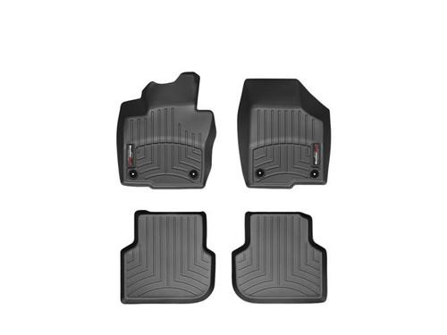 VW GLI WeatherTech FloorLiners - Black