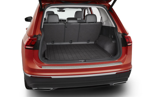 2018-2021 VW Tiguan Rubber Cargo Tray - 5-Passenger Model