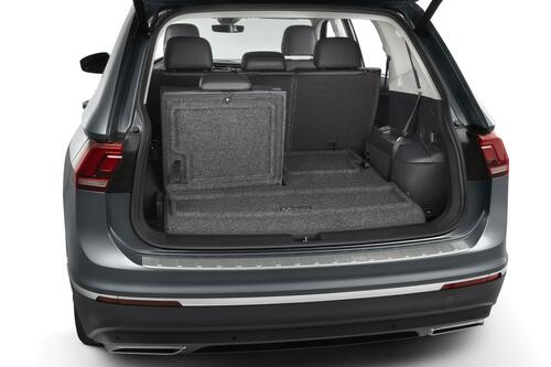 2018-2022 VW Tiguan Cargo Liner with Seat Back Protector